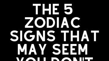 The 5 Zodiac Signs That May Seem You Don't Know Each Other