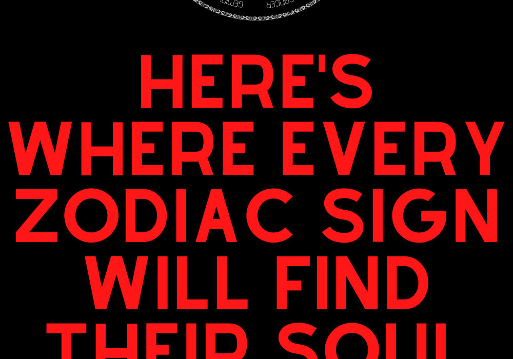 Here's Where Every Zodiac Sign Will Find Their Soul Mate