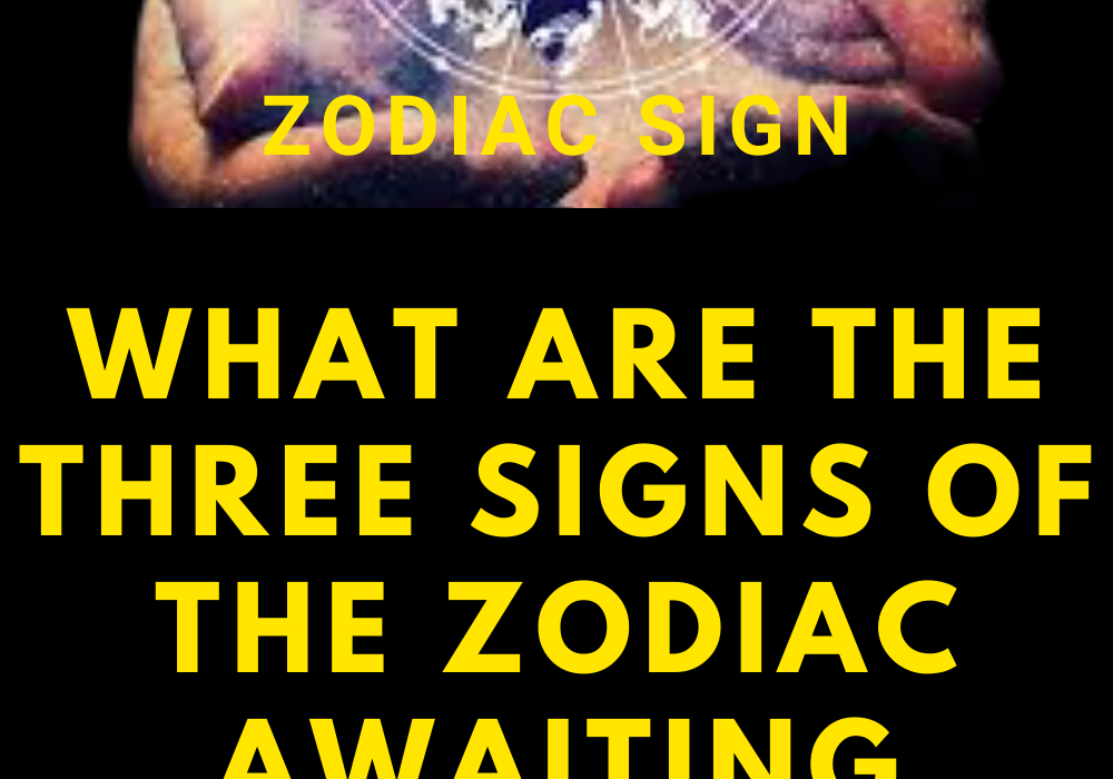 What are the three signs of the zodiac awaiting good luck this weekend?